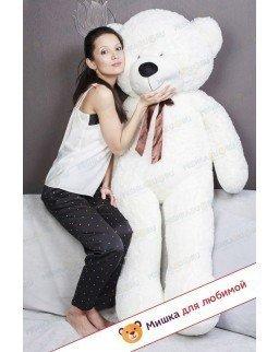 Плюшевый медведь Тихон (Белый) - 160см