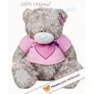 Мишка тедди (me to you) - в розовой футболке с сердцем Me To You - 60 см