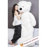 Плюшевый медведь Тихон (Белый) - 200см