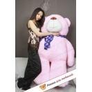 Плюшевый мишка Валера (Розовый) - 150см