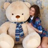Большой медведь Барт 170 см (бежевый)