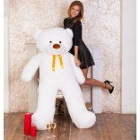 Мишка Феликс 160 см (белый)