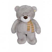 Плюшевый медведь большой Добрыня 110 см ( серый)