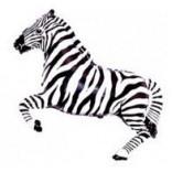 Шар-фигура «Зебра»