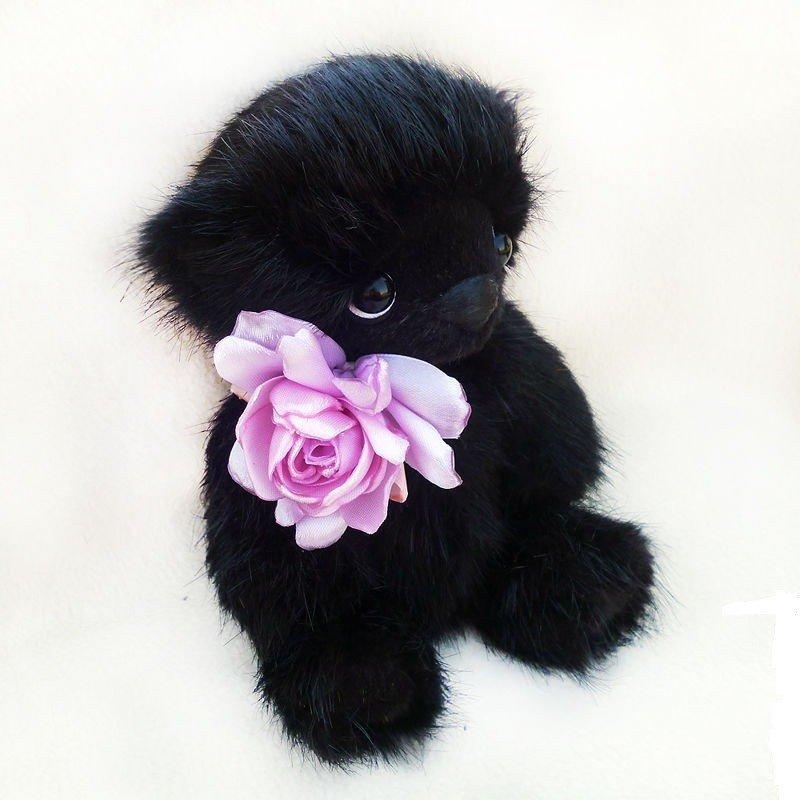 купить черного мишку